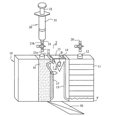 Patent diagram